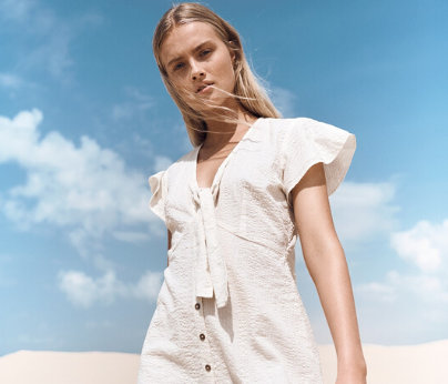 Start the new year with floaty dresses and shirts in all new prints from Cotton On.