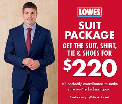 Lowes Suit Sale
