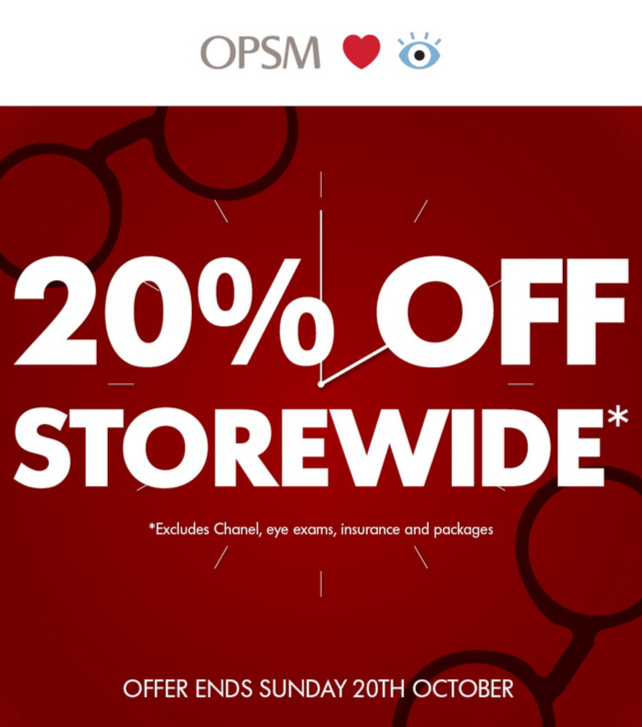 OPSM Sale
