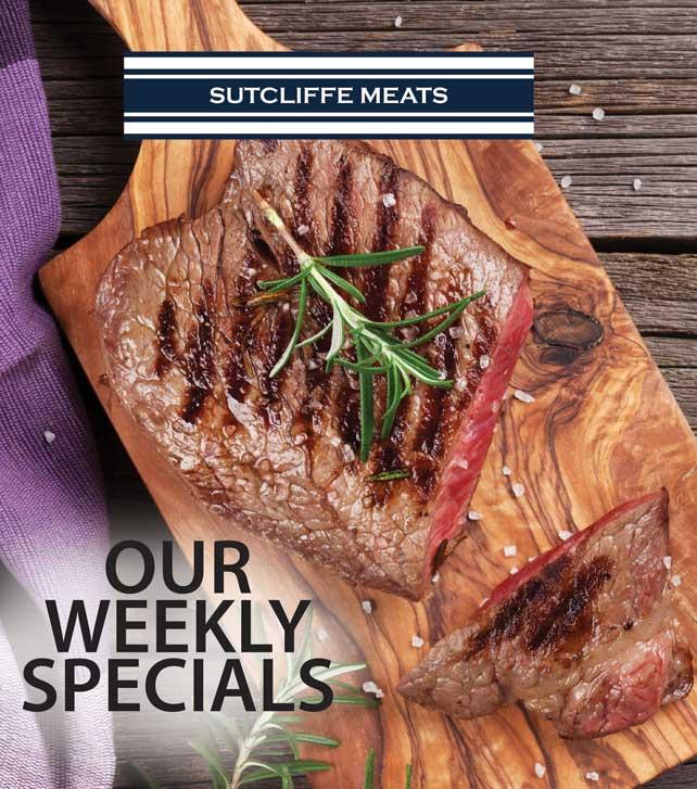 Sutcliffe Meats weekly specials