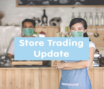 Store trading update 404