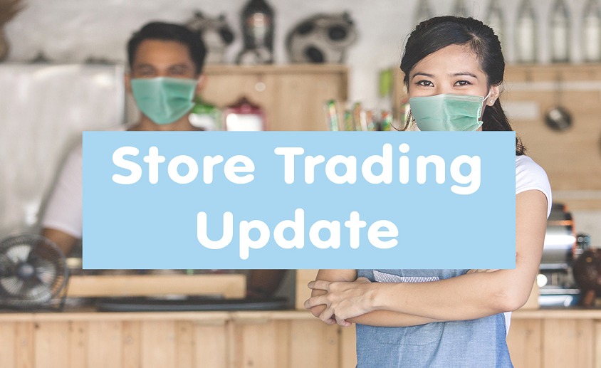 Store trading update 844
