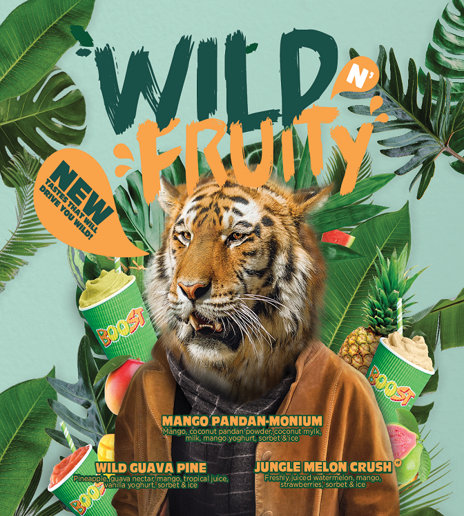 Boost Wild & Fruity 642