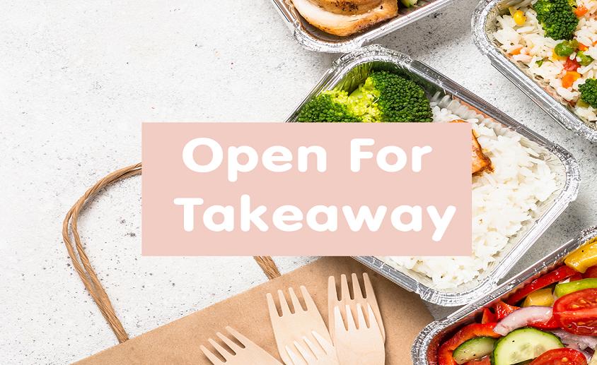 Open for takeaway 844